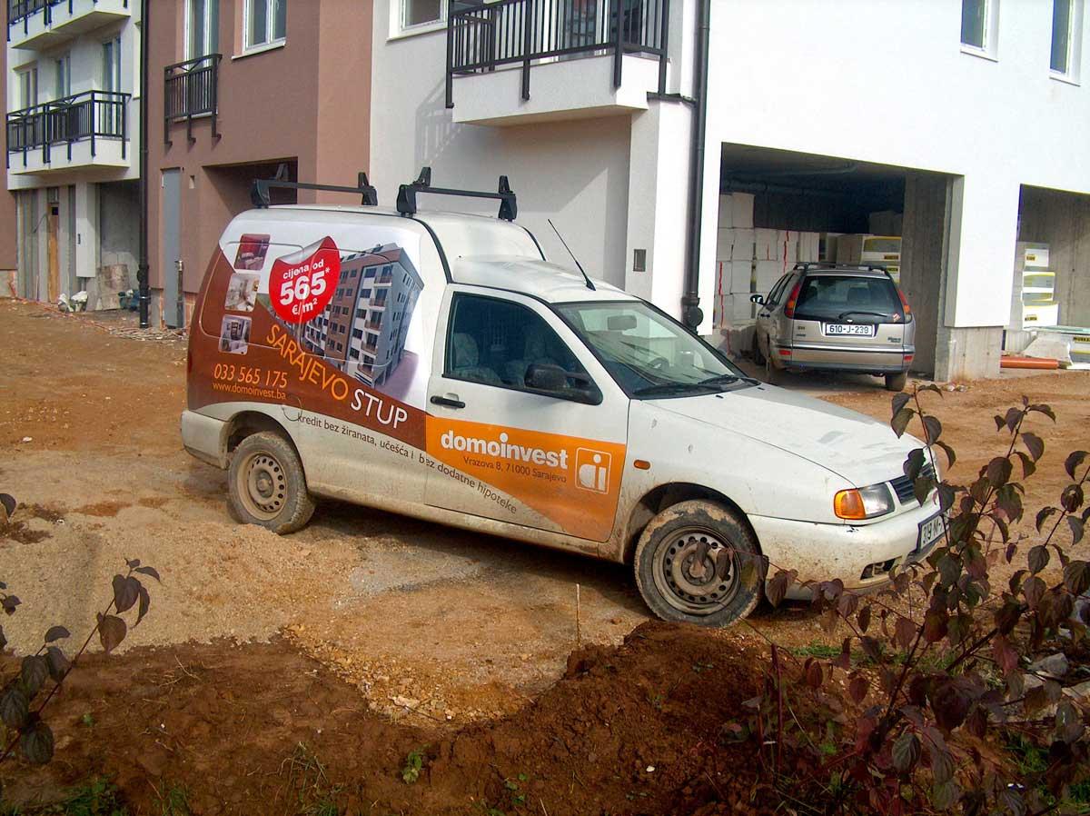 Full branding dostavnog vozila