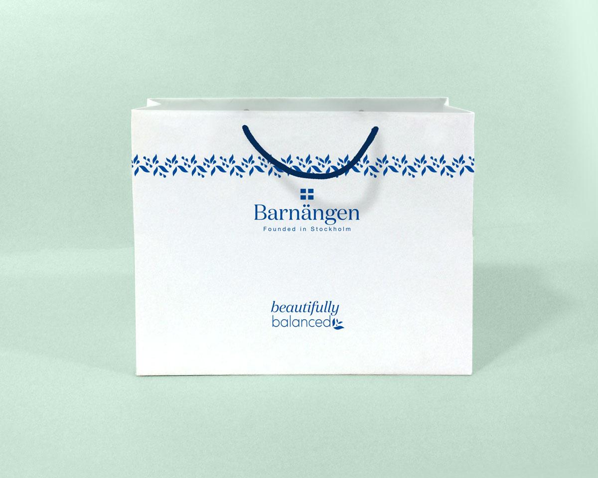 Kesa za kozmetičke proizvode Barnängen, Founded in Stockholm, Beautifully Balanced