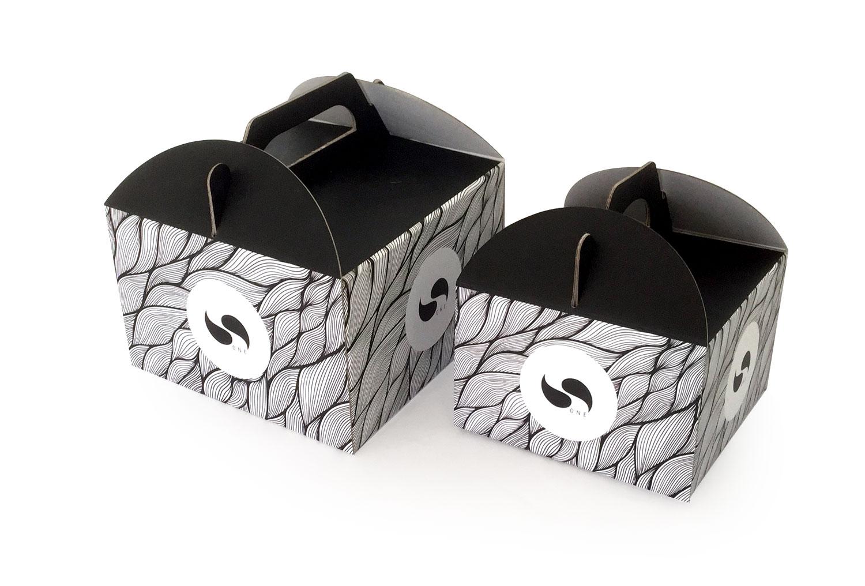 Kutije za torte i kolače sa kolor štampom napravljene od mikrovala
