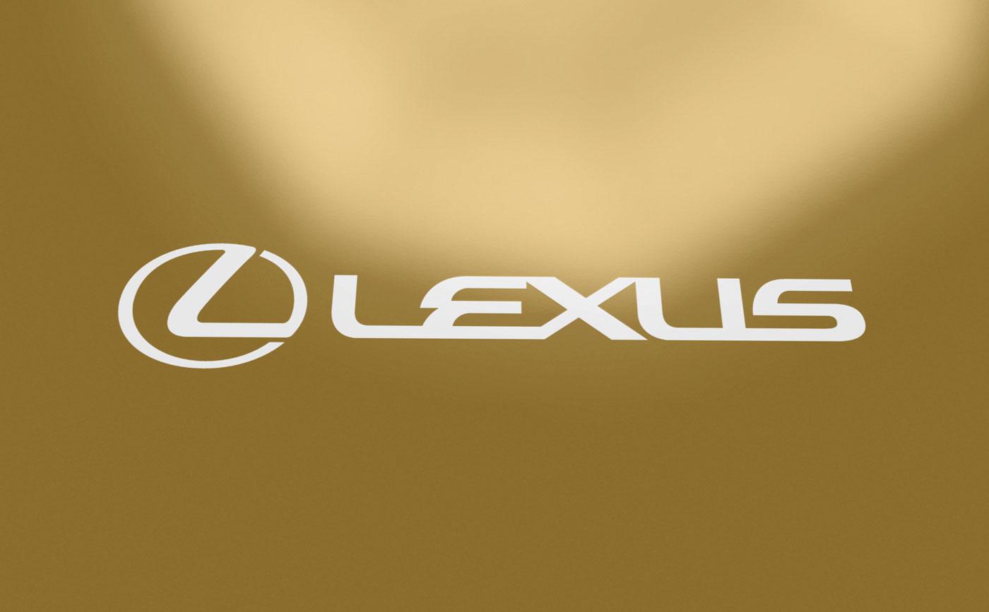 Lexus fascikla, štampa namjenskom zlatnom bojom