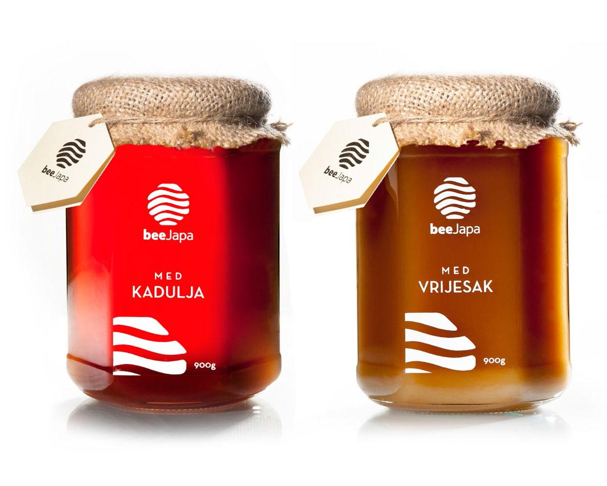 Etikete i naljepnice za pakovanje meda beeJapa