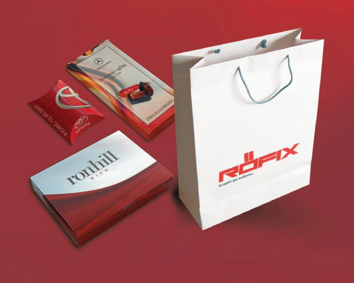 Kese i kutije za pakovanje poklona