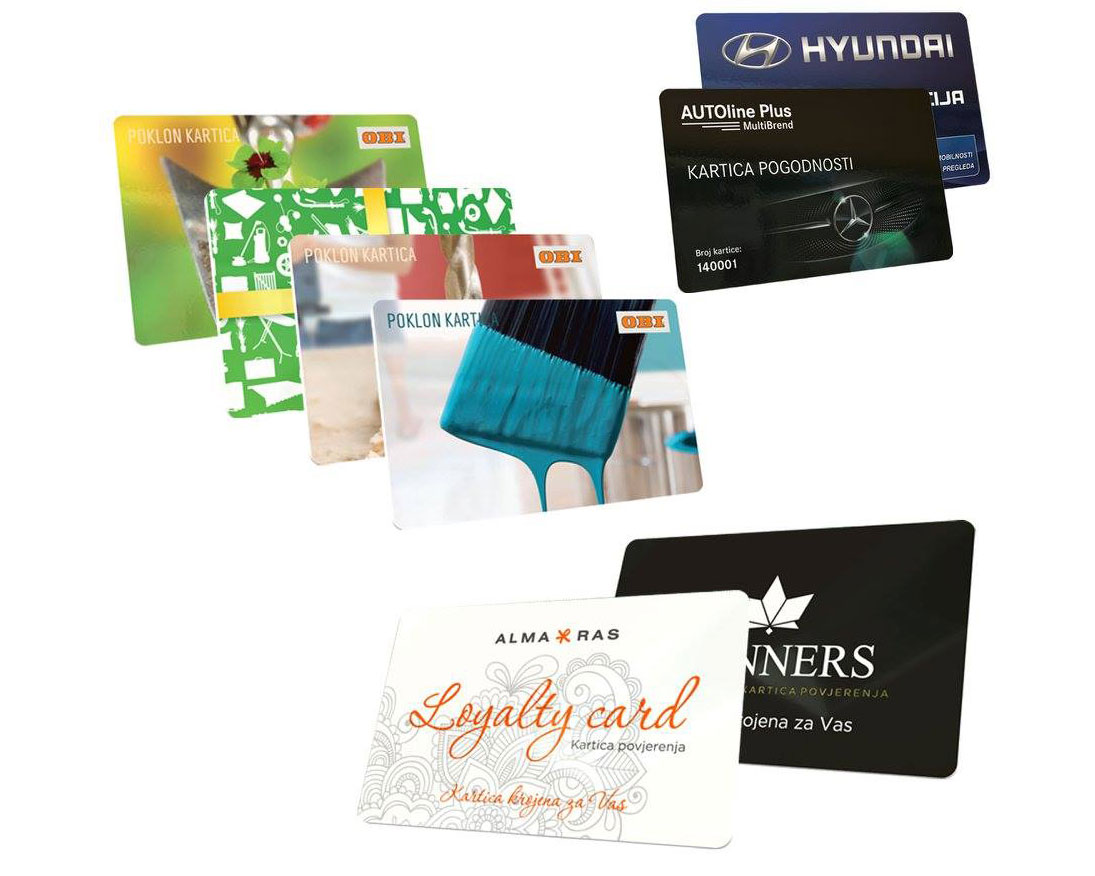 PVC kartice sa štampom