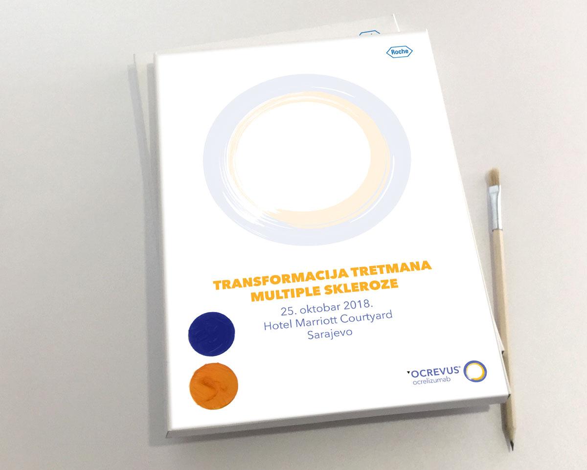 Fascikla za konferenciju Transformacija tretmana multiple skleroze, Ocrevus, Roche