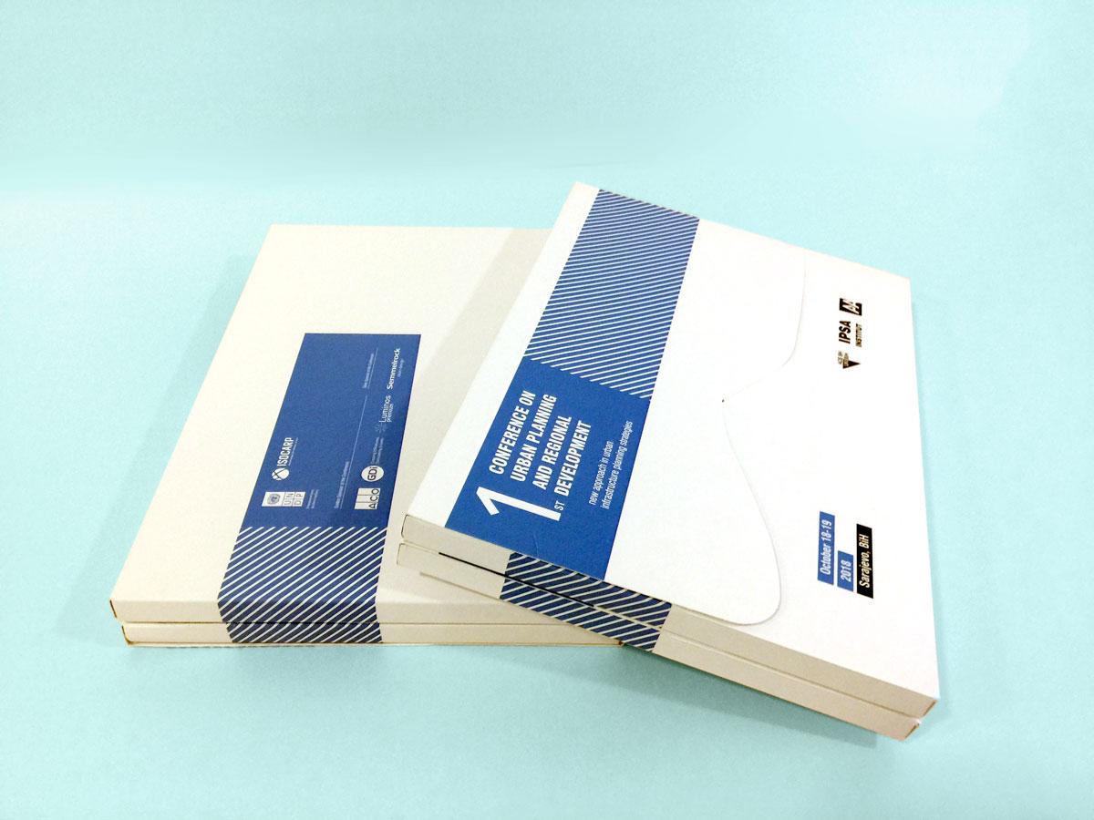 Fascikla za materijale za konferenciju u organizaciji IPSA instituta