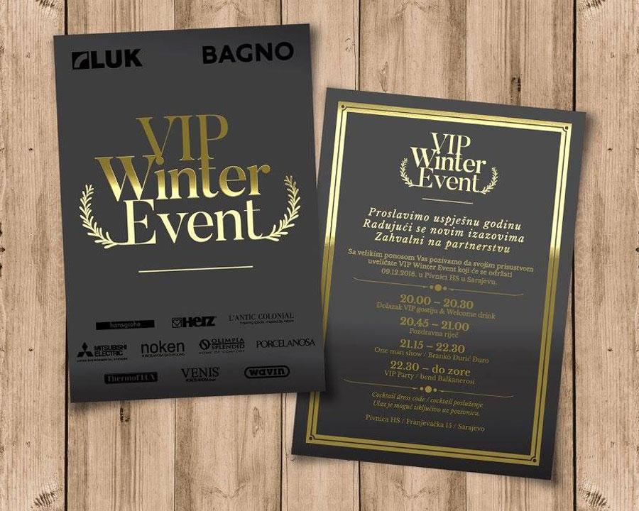 LUK i BAGNO pozivnice za event