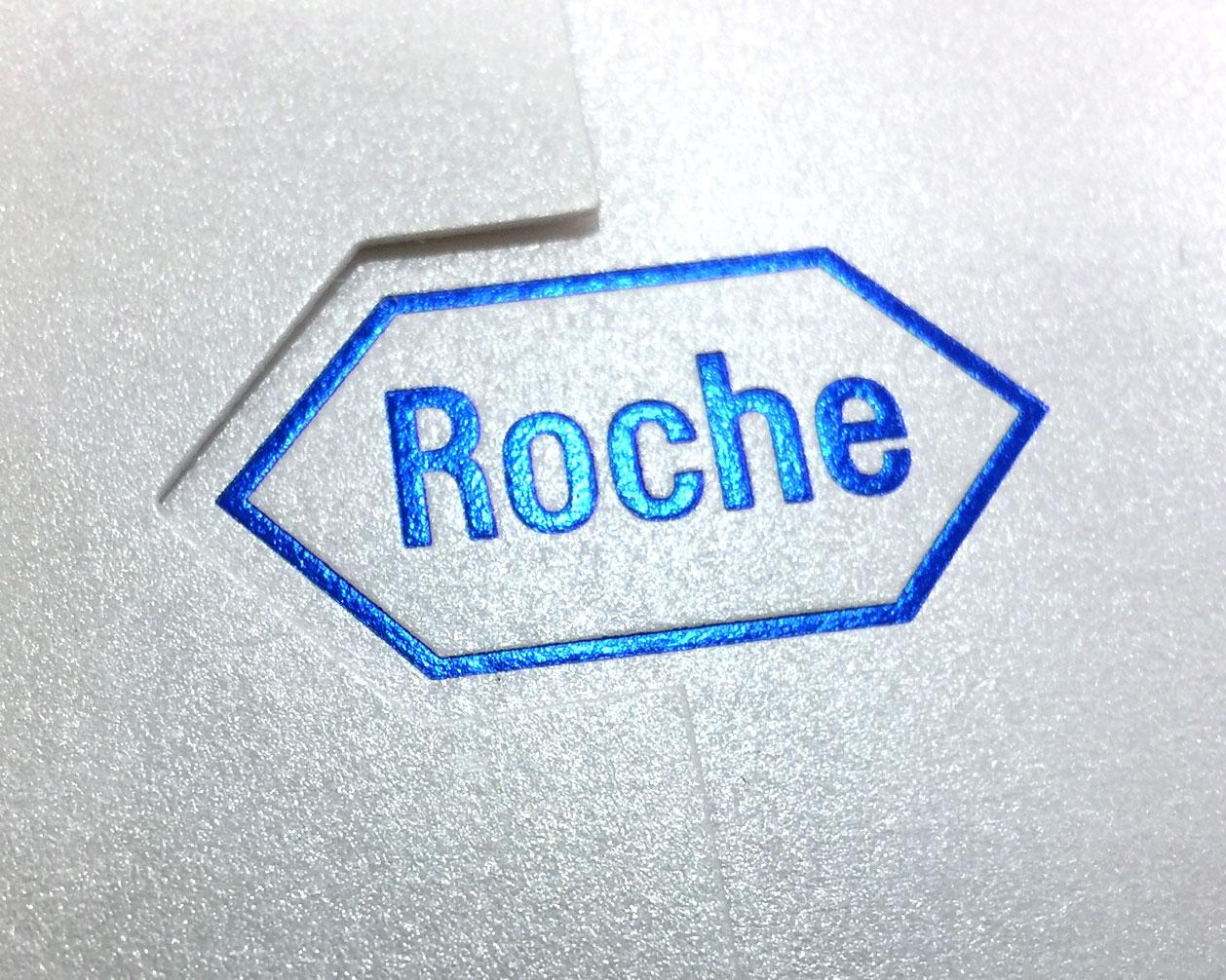 Pozivnica i koverta za Roche